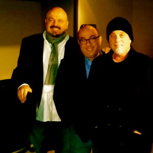 w/ Billy Joel and Walter Afanaseiff
