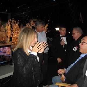 w/ Barbra Streisand, Michael Bublé, Marty Erlichman