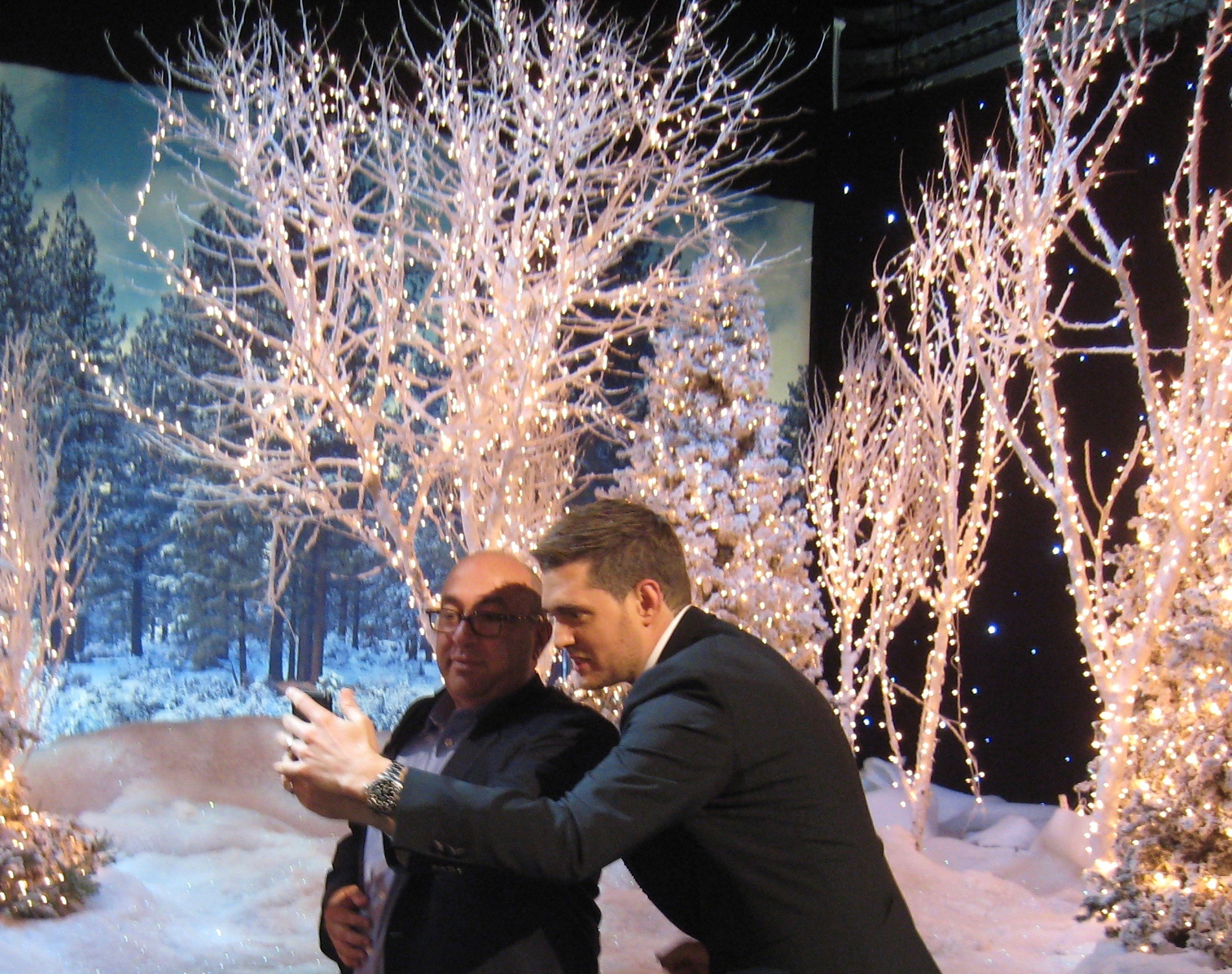 w michael bubl christmas tv special