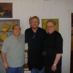 Barry Gibb & Marty Erlichman